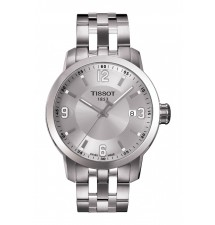 Tissot PRC 200 Men's Silver Quartz Sport Watch